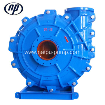 18 Inch 5400 m3/h Metal Horizontal Slurry Pump