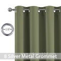 Sage Blackout Curtains 63 Inch Long