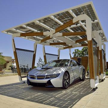 JA Solar customized solar carport BIPV High efficiency