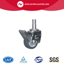 Scaffolding Caster with grey PU