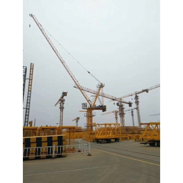 erecting and dismantling a tower crane