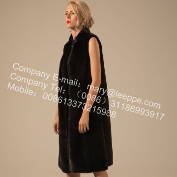 Winter Women Reversible Kopenhagen Mink Vest