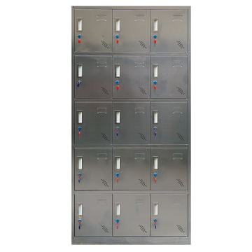 Hospital use 15 Door metal lockers