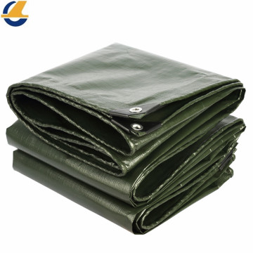 Waterproof Heavy Duty Brown Poly Tarp Cover