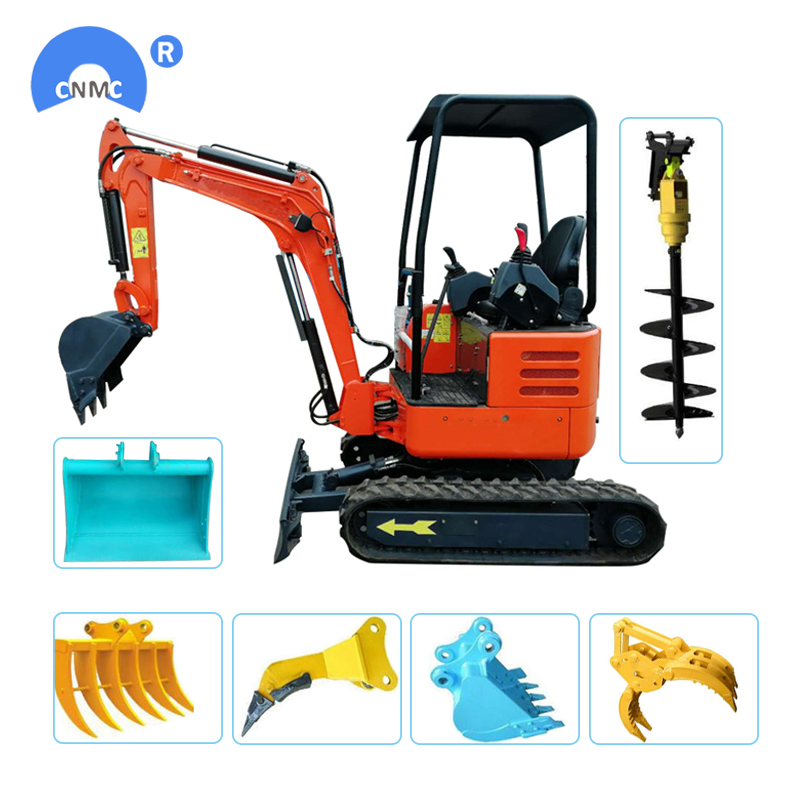 towable mini excavator-3