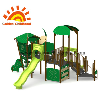 Natural Green Outdoor Playground Equipment For Children