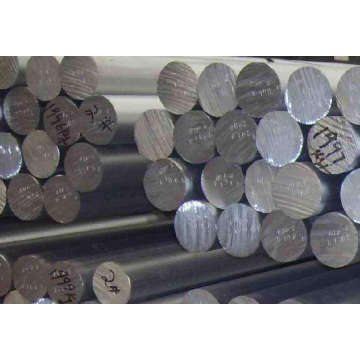 Extruded aluminium rods of various specifications
