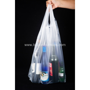 Binaural T-Shirt Shopping Plastic Bag