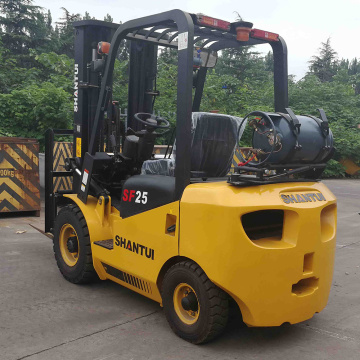 2 Ton lpg gas bottle forklift