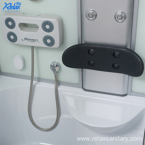 Factory price steam shower kit with colorful light