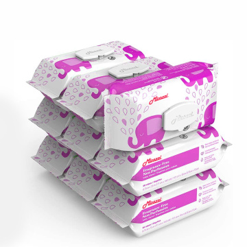 Unscented Non-Woven Alcohol Free Baby Wipes