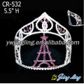 Beauty Custom Paris castle pageant crowns