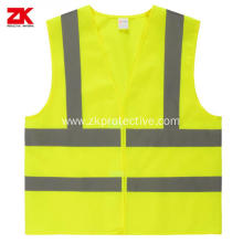Reflective safety vest with 3M 8910