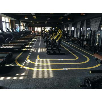 export colorful indoor rubber gym flooring