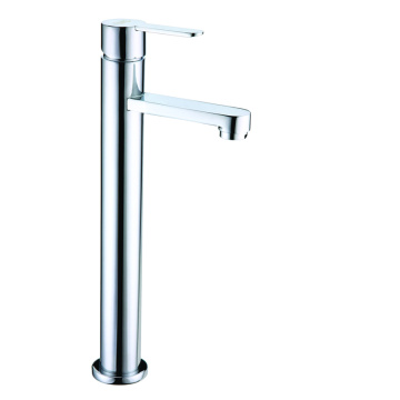 Bathroom single cold vessel sink faucet tap