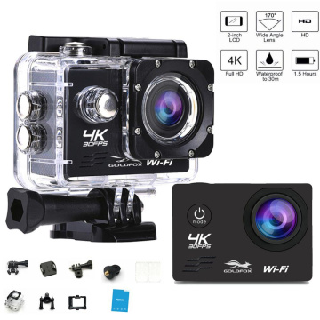 1080P Action Camera 4K Ultra HD 30fps WiFi 2.0