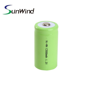 Ni-Mh C Size Rechargeable Batteries 3000mah