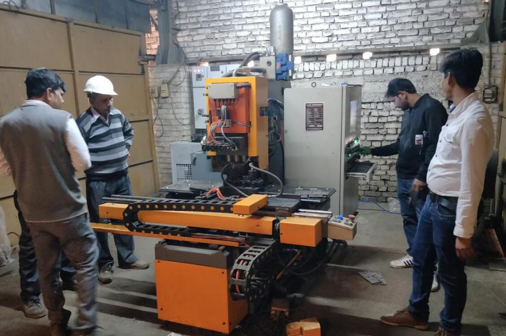 CNC Hydraulic Punching Typing Machine