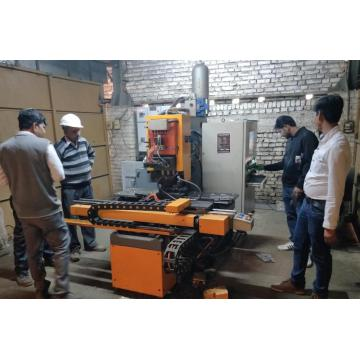 CNC Plate Hole Punching  Marking Machine