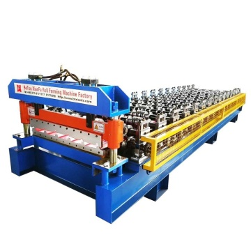 High Performance Steel Plate Roof Roll Forming Machine