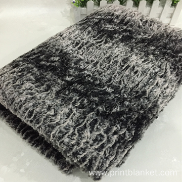 High quality hot sales fake fur blanket