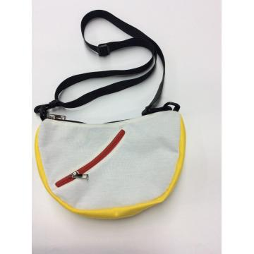 Practical arc casual shoulder bag