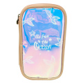 MERMAID TRANSPARENT LASER PENCIL CASE-0