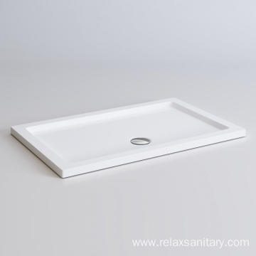Construction materail artificial stone shower tray