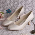 Satin Purple Shoes Heels Shoes Wedding Shoes