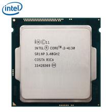 PC computer Intel Core Processor I3 4130 3.4GHz I3-4130 CPU LGA 1150 22nm Dual-Core 54W 100% working properly Desktop Processor