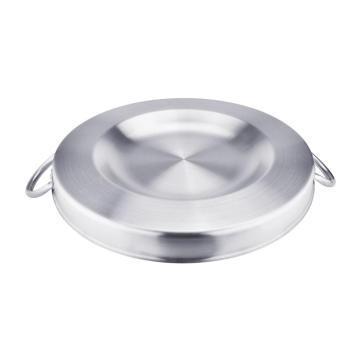 21.25 Inch Heavy Duty Stainless Steel Convex Comal