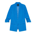 Autumn Blue Professional Long-Sleeved Blazer