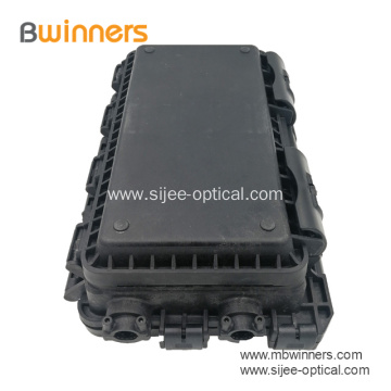 Ftth 2 In 2 Out Fiber Optic Inline Splitter Splice Closure