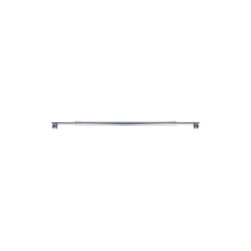 Stainless Steel Support Bar with Brass Cap