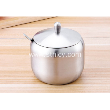 Stainless Steel Thickened European Seasoning Jar