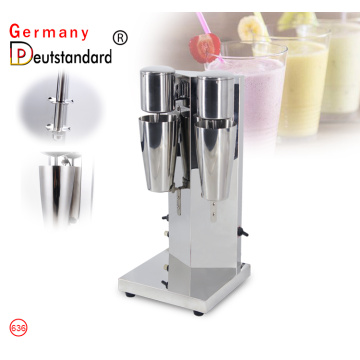 Double head milk shake machine