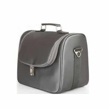 Mens Pu Leather Travel Case Toiletry Vanity Bag