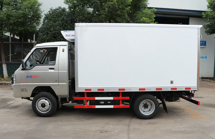refrigerated small trucks 1