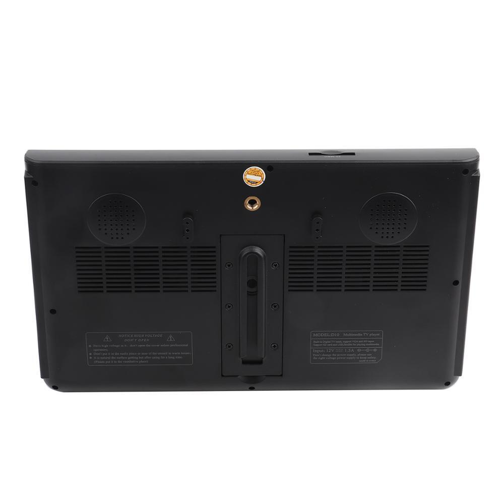 televizyon 10 inch LEADSTAR DVB-T2 High Sensitivity Car Digital TV Stereo Surrounding 1080P Car Television tv portatil digital