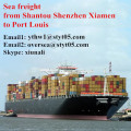 Shantou to Port Louis full container sea shipping