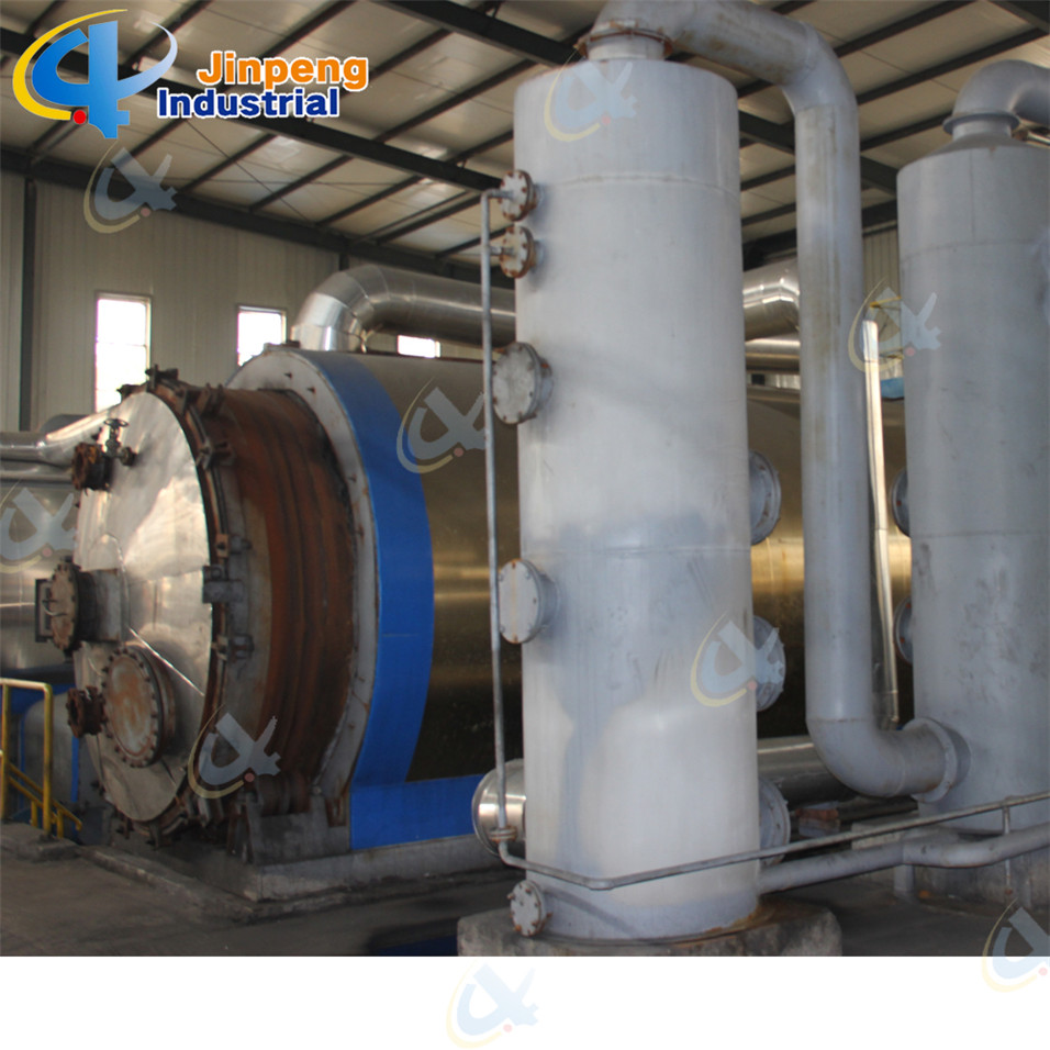 Tyre/Rubber/Plastic Pyrolysis Machine