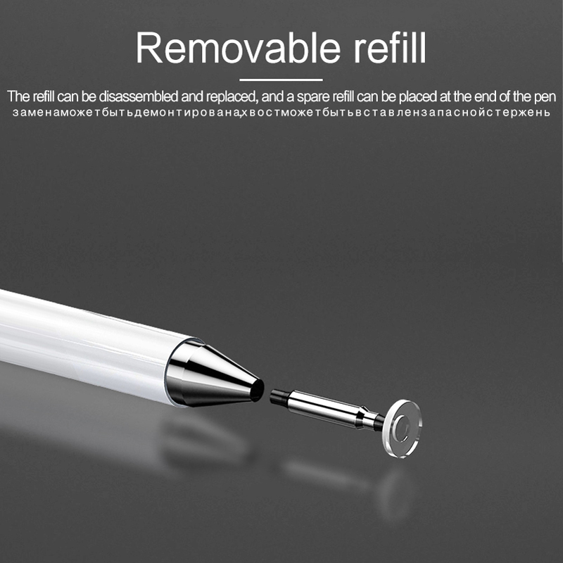 Screen Stylus Pen For Apple iPhone 12 11 Pro Max 6 7 8 Plus X XS XR For Samsung Huawei Xiaomi OPPO Vivo Smart phone Touch Pencil