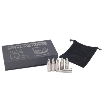 Bullet Shaped Ice Cubes Gift Set