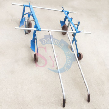 Wholesale price cheap greenhouse crop vegetable seed hand pull plastic film mulching layer machine with working width 1m/1.5m/2m
