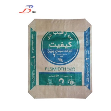 Block Bottom Star Cement Sacs en papier Prix