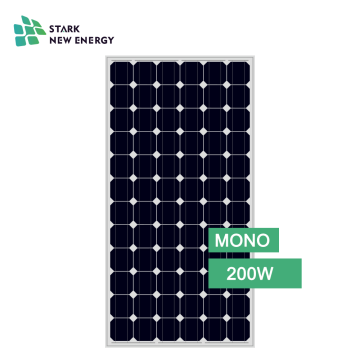 Home Application Mono Solar Panel 200w solar panel