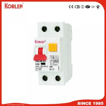 Residual Current Circuit Breaker with over load protection 2p C32A magnetic type