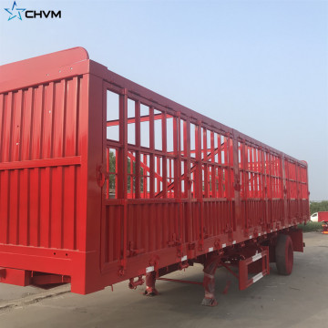 Sugar Cane Harvest Stake Fence Cargo Semi Trailer