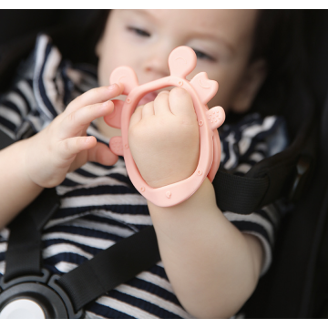 Adjustable Wristband Chew Natural Teethers for Babies