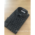 Men's print long sleeve spandex shirt